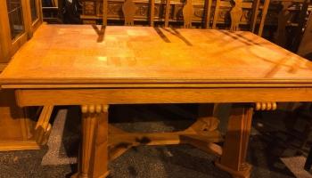 Vanha pöytä + tuolit